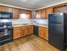 Kitchen, Crestwood Apartments, 0