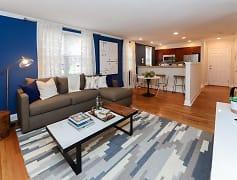 Living Room, The Villas at Bryn Mawr Apartment Homes, 0