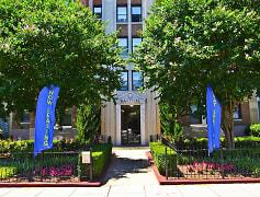 Entrance landscaping