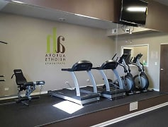 Fitness Weight Room, Aurora Heights Apartments, 0