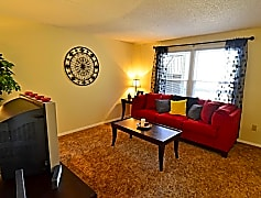 One Bedroom - Living Room