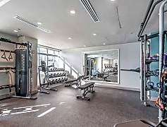 A state-of-the-art fitness studio features strength, cardio and open floor exercise space, as well as Fitness On Demand<sup>TM</sup>.
