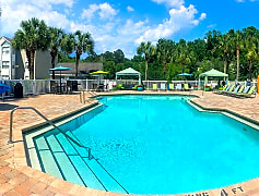 Take a dip in our resort-style swimming pool with expansive sundeck.