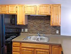Remodeled kitchens with backsplash