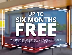 Long Term Lease Special! Up to 6 months Free!