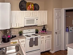 Bright and airy kitchens with pantries and Whirlpool appliances