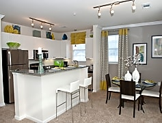 Granite Countertops, Stainless Steel Appliances....Modern touches for your new apartment