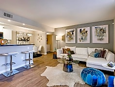 Entertain guests in this inviting and spacious living room with gorgeous natural, Las Vegas sunlight streaming through!
