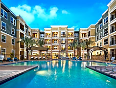Resort-style pool and spa