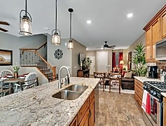 Kitchen, Living Room And Staircase (Corporate Apartment)