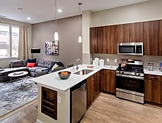 One Bedroom Kitchen/Living