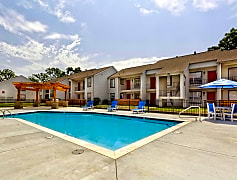 Sparkling Pool at the Indian Hills Apartments in North Little Rock, AR