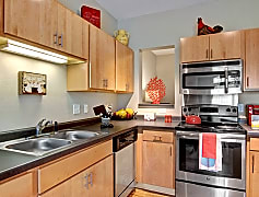 Covington Kitchen with Stainless Steel Appliances
