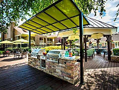 Gourmet outdoor kitchen<BR>