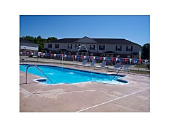 Sparkling Community Pool
