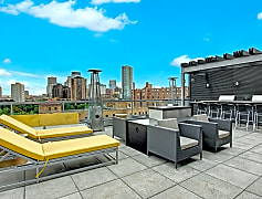Vue Rooftop Seating View with Scenic View of City