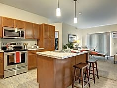 The Club at Heritage Kitchen with Stainless Steel appliances