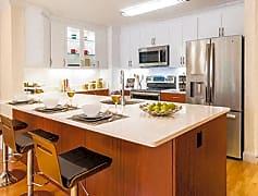 Newly renovated transitional style kitchen