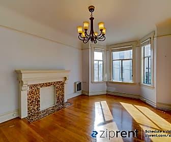 Living Room, 1608 Larkin St, #1608A, 0