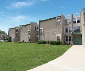 Building, Evergreen Square, 0