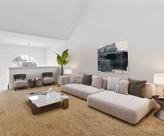 Living Room, Crooked Hill Townhomes, 0