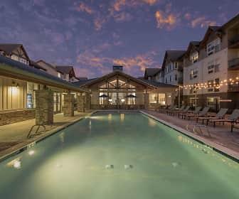 Pool, Eddyline At Bridgeport Apartments, 0