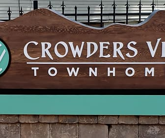 Community Signage, Crowders View Townhomes, 0