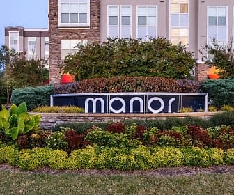 Community Signage, Manor Six Forks Apartments, 0