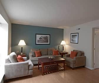 Living Room, Cloverleaf Lake, 0