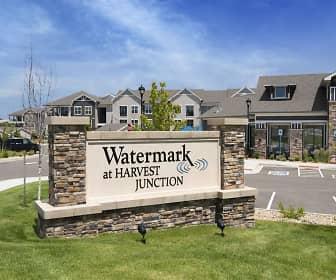 Community Signage, Watermark at Harvest Junction, 0