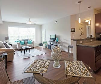 Dining Room, North Point Apartments, 0
