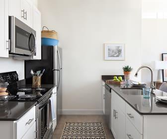 Kitchen, Billy Byrd Lofts, 0