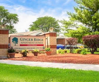 Community Signage, Ginger Ridge Apartments, 0