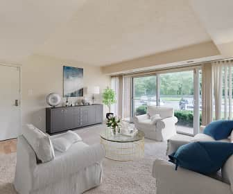 Living Room, River Pointe Apartment Homes, 0