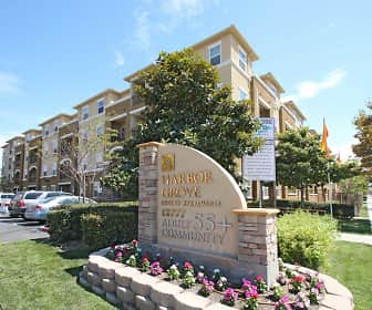 Building, Harbor Grove Senior Apartments 55 Plus Community, 0