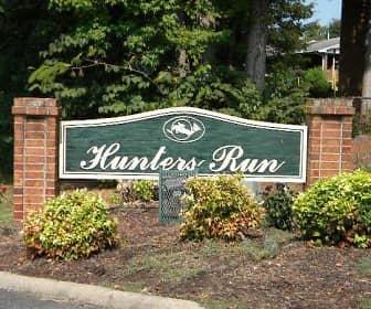 Community Signage, Hunters Run, 0