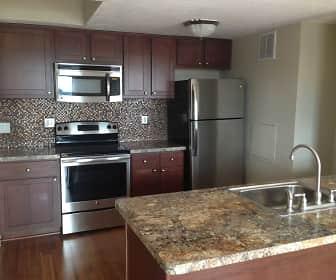 Kitchen, Historic Stolp Island Apartments, 0