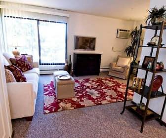 Bedroom, Hopkins Village Apartments, 0