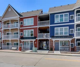 Building, Parker Flats Apartments, 0