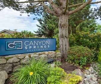 Community Signage, Canyon Springs, 0