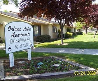 Community Signage, Orland Apartments, 0