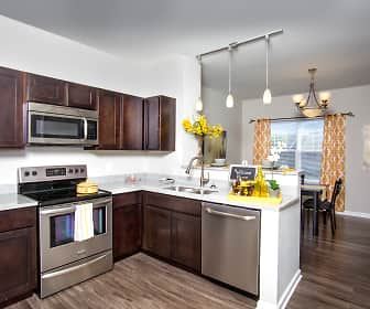 Kitchen, Stone Ridge Apartments & Townhomes at the Ridge, 0