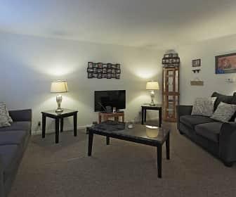 Living Room, Forest Glen Apartments, 0