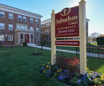 Community Signage, Suburban Court Apartments, 0