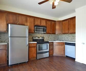Kitchen, York Village Apartments, 0