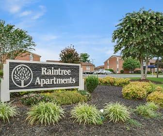 Community Signage, Raintree Apartments, 0