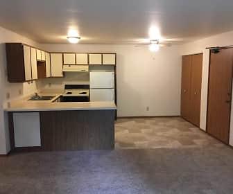 Kitchen, Spencer Village Apartments, 0