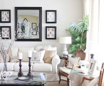 Living Room, Garden City Apartments, 0