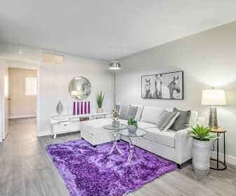 Living Room, Wyandotte Apartments, 0