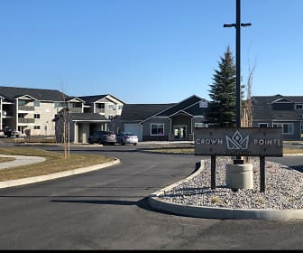 Community Signage, Crown Pointe Apartments, 0